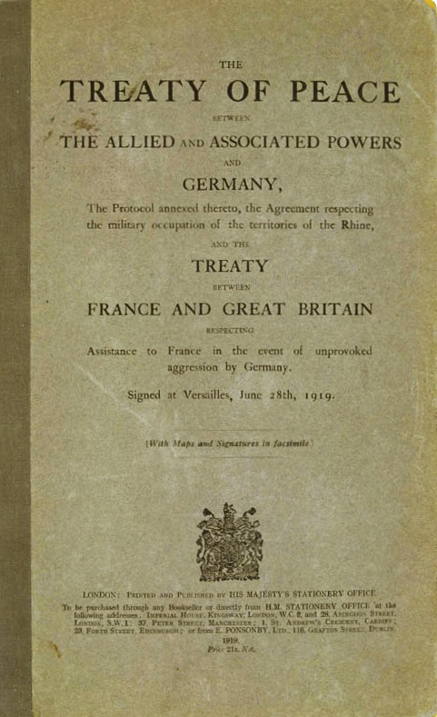 the treaty of versailles was unjust Over the next two decades, the united states would sit on the sidelines as the  unjust treaty of versailles and the ineffective league of nations would set the.